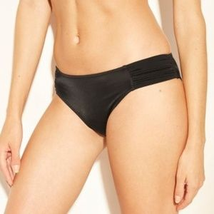 Shade & Shore | Black Beach Hipster Bikini Bottoms
